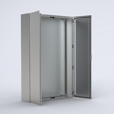 Stainless Electrical Cabinet Switchboard Floor Enclosure - 1800 x 1600 x 400