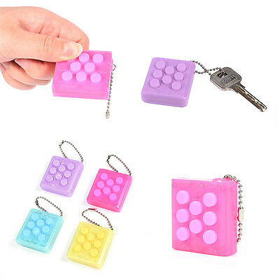 PuchiPuchi Electronic Endless Bubble Wrap Keychain Squeeze Relieve Stress