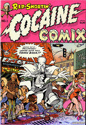 COCAINE COMIX Underground comic rare 1975 William Stout Rich Chidlaw Last Gasp