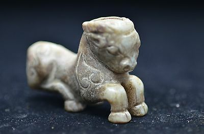 Chinese antiques,Manual polishing,Soft jade,Hand-carved Exquisite Sheep statues