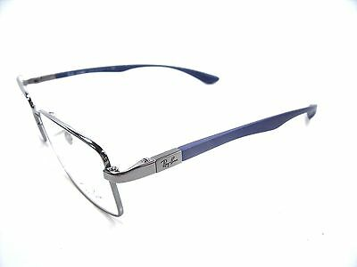 Ray Ban Eyeglasses RB 6286 Silver 2502 Optical Frame New & Authentic