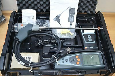 Testo 327-1 FLUE GAS Combustion Analyzer Kit Case, Charger And Printer