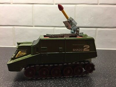 1970's Dinky Shadow 2 Gerry Anderson UFO With Missile