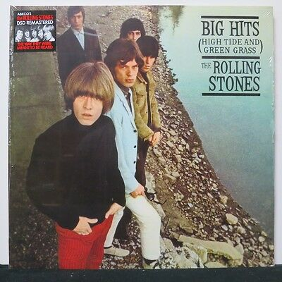 THE ROLLING STONES 'Big Hits High Tide And Green Grass' Remastered Vinyl LP NEW