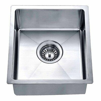 13-15 inches small kitchen and bar sink with small radius with free faucet