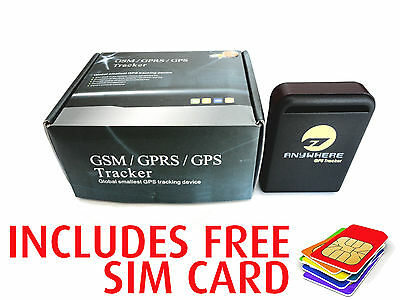 GPS GPRS Tracker Car Vehicle Personal Tracking Device With 1 Years Live Tracking