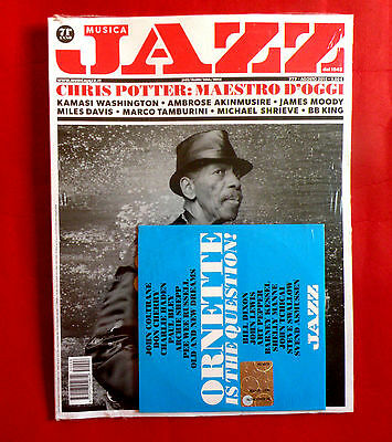 Ornette Coleman Cover + Cd Jazz Potter Moody Bb King Bley Shepp Lewis Magazine