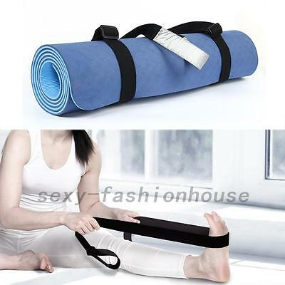 Adjustable Yoga Mat Sling Carrier Shoulder Carry Strap Belt Cotton