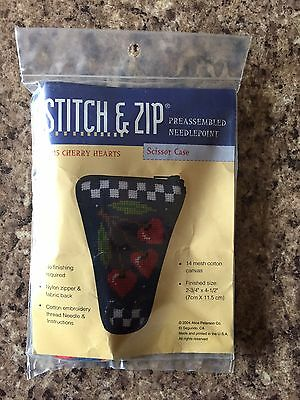 Genuine Stitch & Zip American Needlepoint (Scissor Case) Kit