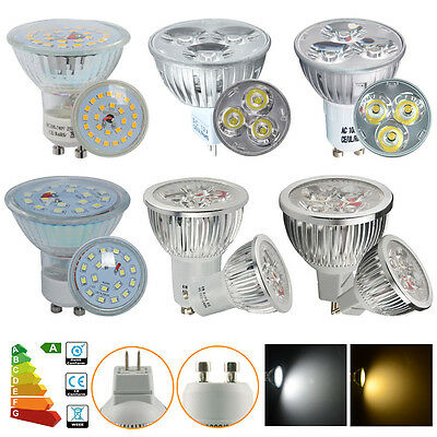 20/10x GU10 MR16 LED Bulbs Spotlight 4W 5W 6W 7W Warm White/Daylight Lamp Light