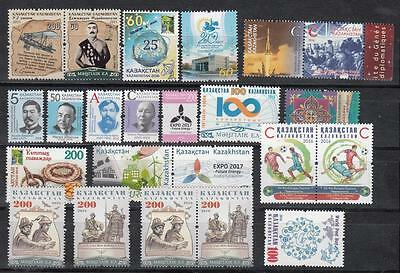 Kazakhstan Kasachstan 2016 MNH** Mi. Complete Year Set with Rare stamps 8 Scan