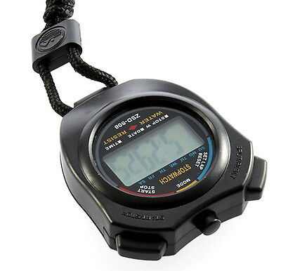 Digital Chronograph Sports Stopwatch Counter with Strap LY