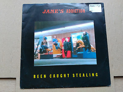 Single Jane's Addiction - Been Caught Stealing - Wb Europe 1991 Vg+