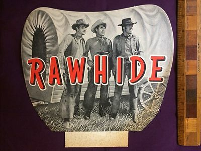RAWHIDE 1960s TV SHOW LINDSAY'S COWBOY COSTUME PHOTO HEADER CARD CLINT EASTWOOD!