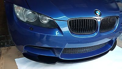 Bmw M3 Sport 2007 - 2013  E92 & E93  Fits Only For Coupe&cabrio  Front Splitter