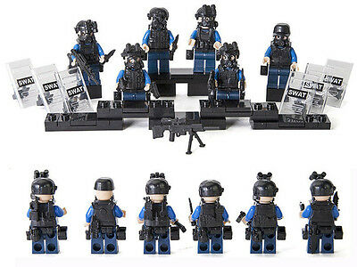 SWAT - Special Forces - Lego Compatible - Police Minifigures - Military Minifigs