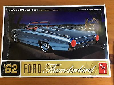 1:25 Scale Model 62 Thunderbird