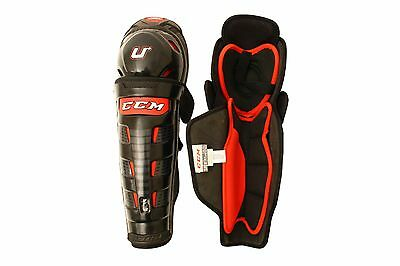 CCM U+ CL Ice Hockey Shin Guards Size Senior Hokejam.co.uk