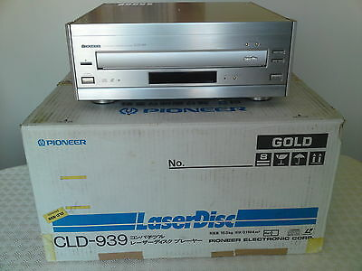 Pioneer CLD-939 (CLD-97)  HIGH-END NTSC LASERDISC PLAYER/CD player or Transport