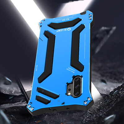 R-JUST Aluminum Metal Dustproof Shockproof Case For Samsung S9 S8 Plus Note 8