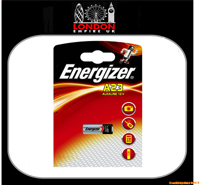 Energizer A23 Alkaline 12V Battery LRV08 GP23A 1 Single Battery