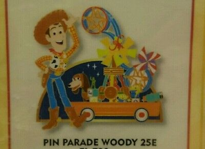 Pin Disney Paris DLP Disneyland Parade 25 Woody Zig Zag LGM Toy Story Pixar LE