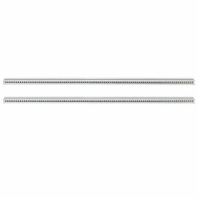 Tiptop Audio Z Rails 168HP Eurorack Mounting Rails (pair, silver)