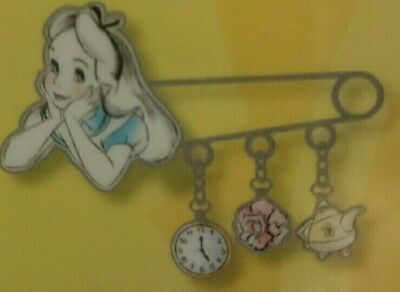 Pin Disney Paris Disneyland DLP 25 AIW ALICE BROCHE PASTEL WONDERLAND