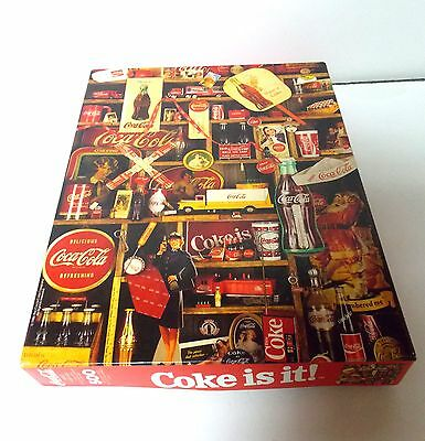 Nib Coke Coca Cola 500 Pc Jigsaw Puzzle