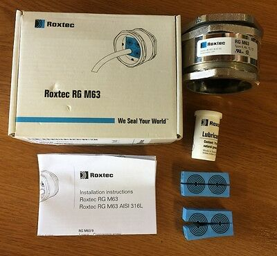 NEW Roxtec RG M63 M63/4 Cable Entry Seal Kit