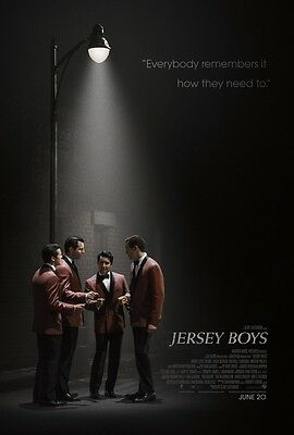 Jersey Boys zweiseitig ORIGINAL FILM Plakat CLINT EASTWOOD Four Seasons