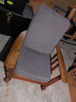 collectable antique Morris recliner chair Fair condition pick up only