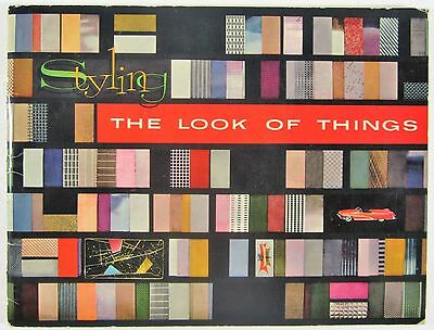 Styling The Look of Things General Motors GM Mid Century Modern Car Design 1955