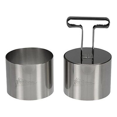 Patisserie Circle Cutter Stainless Steel, silver, 5,5 x 7 cm