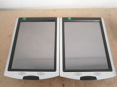 2 x Acuative Scan Portable IP PoE Touch Screen Barcode Card Reader VIP 4000 ***