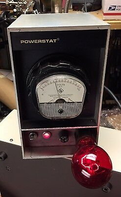 TESTED N116BK VARIAC 10A POWERSTAT AUTOTRANSFORMER 3 PRONG 0-140v