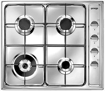 *LAST ONE* New RRP$699 OMEGA Gas Cooktop Stovetop Stove Top Cook Stainless Steel