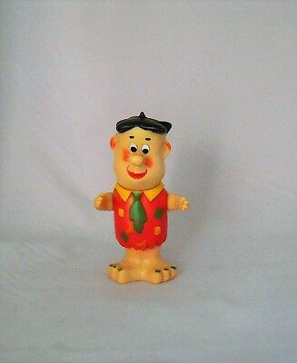 Rare Vintage 1962 HANNA-BARBERA Fred Flintstone Figure Made in Japan