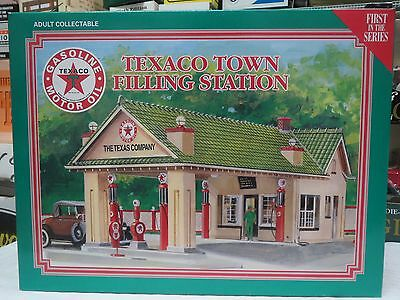 Texaco Hand Crafted Porcelain Town Filling Station