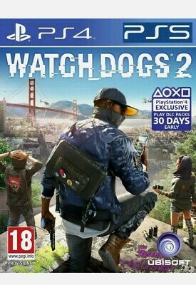 Watch Dogs 2 PS4 NEW - Same Day Dispatch via Super Fast Delivery