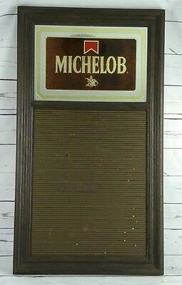 """Vintage 1983 Anheuser Bush Michelob Advertising Sign with letter board 31""""x17"""""""