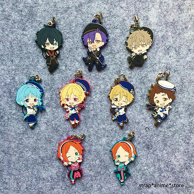Ensemble Stars ES Game Rubber Strap Keychain Charm Movic Ver