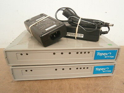 JOB LOT 2 x Topex HSUPA Router WiFi 3G Routing Protocol + 2 x AC Adapter ***