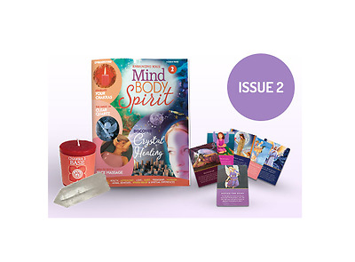 Enhancing your Mind Body Spirit Magazine Issue #2 with 6 Angel Cards + more BN!