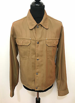GFF GIANFRANCO FERRE VINTAGE '80 Giubbotto Uomo Cotton Man Jacket Sz.XL - 52