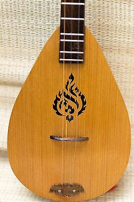 Phin Acoustic is made of fine wood. Of the Isan people Folk wisdom Imagination