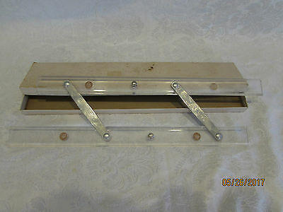 """Vintage The C-Thru Parallel Ruler Co 15"""" with original box"""