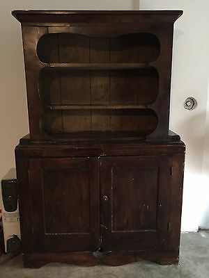 Antique Wood Cupboard Mixed Woods/Marriage Top to Bottom Pick up only Cinc. Ohio
