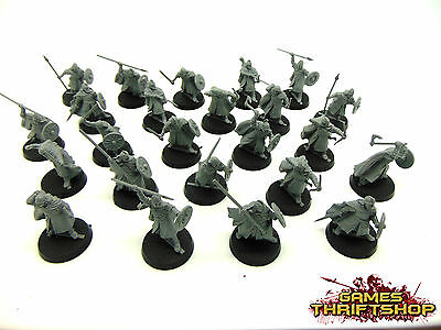 Warhammer Lord of the Rings LOTR Haradrim Warriors x 24 Unpainted