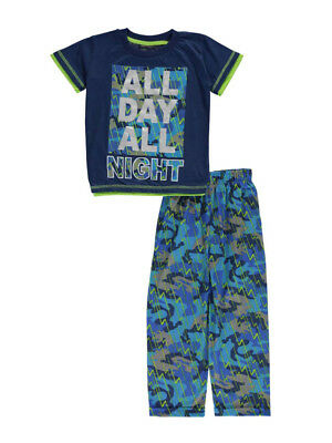 "Mac Henry Little Boys' ""All Day, All Night"" 2-Piece Pajamas (Sizes 4 - 7)"